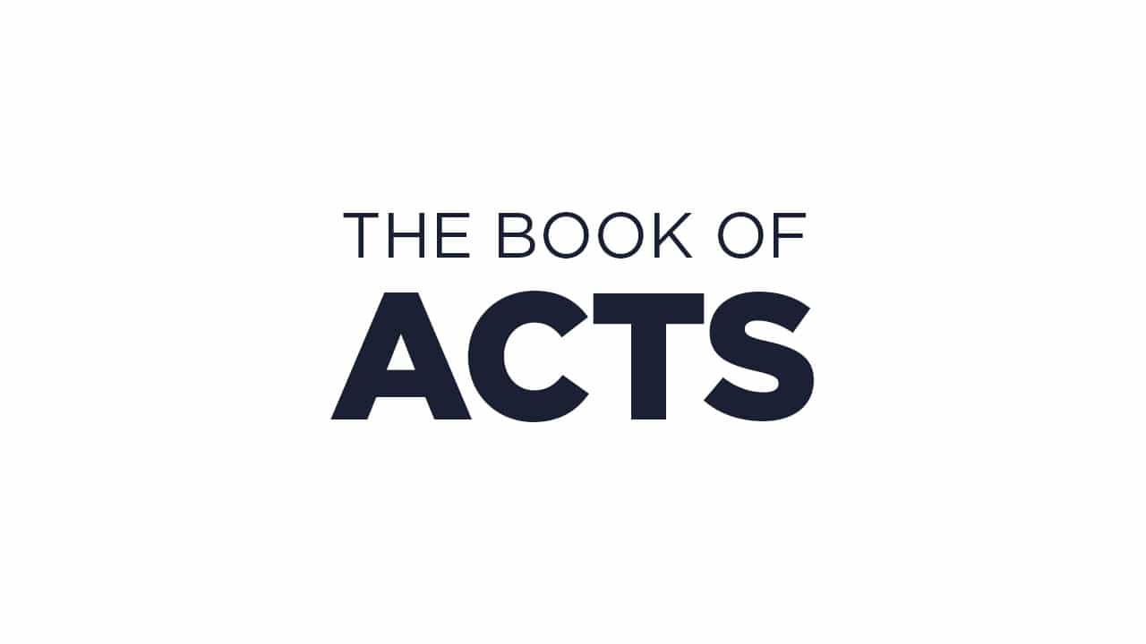 Acts Chapter 6